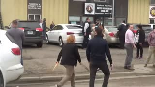 Cory Booker Confronted By Protesters About His Alleged Sexual Assault!