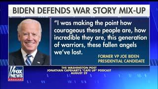 WATCH: Joe Biden Tells FAKE War Story, Immediately Gets Called Out