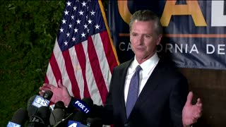 Newsom defeats California recall effort - TV networks