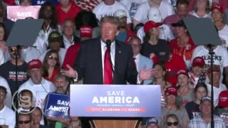 """Trump ROASTS """"Woke"""" Military Generals at Rally as Crowd Goes WILD"""