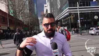 The major DANGER people face in Melbourne, Australia is from POLICE!