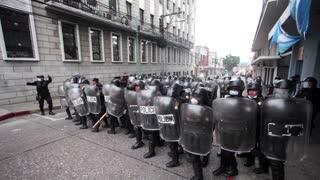 Protesters breach Guatemala's legislature