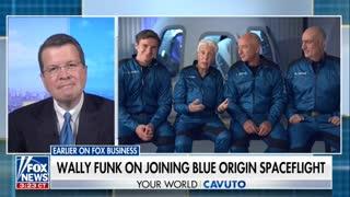 Space Flight by Amazon's Jeff Bezos Explained by Jeff Bezos 7-19-21