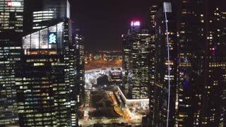 Financial District Singapore 01 || Drone View