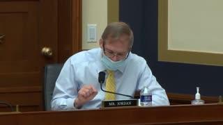 Jim Jordan Rails Against Big Tech Censorship in House Hearing