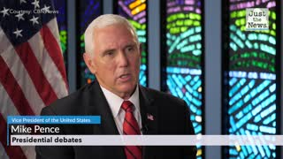 Vice President Pence discusses the Presidential debates