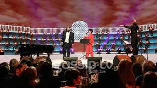 YFSF: Η Φιλίνη και ο Παναγόπουλος ως Liza Minnelli και Luciano Pavarotti στη σκηνή