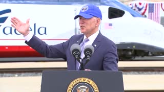 Biden Gets Lost Telling Story About Amtrack - LOST!