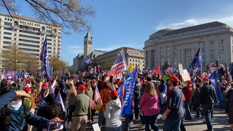 million MAGA March step off #millionMAGAmarch