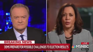 WATCH: Kamala Harris refuses to answer Supreme Court question