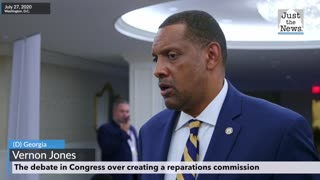 Vernon Jones on the debate in Congress over creating a reparations commission
