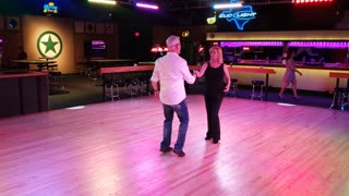 West Coast Swing @ Electric Cowboy with Jim Weber 20210418 190008
