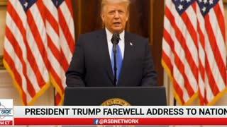 Farewell Address President Donald J. Trump