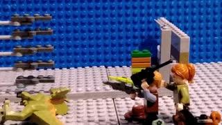 Lego Dinosaur Attack