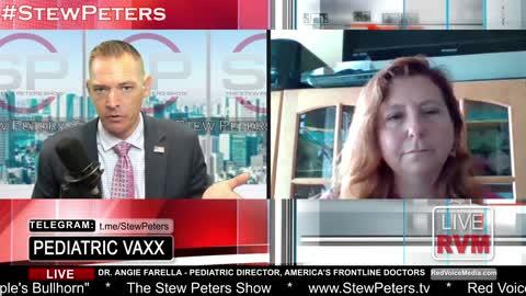 BREAKING EXCLUSIVE! America's Frontline Doctors Pediatric Director Fires Back at Pfizer CEO