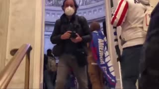 Jan. 6th 2021 - Capitol Police open the doors and let rally-goers walk into the capitol
