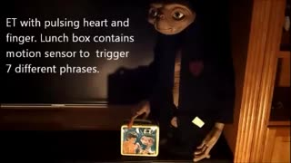 E.T. With Audio and Pulsating Heart