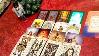 Aries Christmas Tarot Reading a wonderful life Christmas 2020