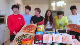 Eating 10,000 calories in 24 HOURS Challenge