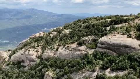 Magic mountains of Montserrat MUST SEE