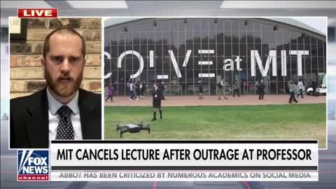 Woke mob blocks professor's MIT guest lecture over his past comments