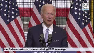 Joe Biden unscripted moments from the 2020 campaign