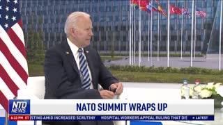 NATO Summit Wraps Up