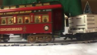Bachmann Night Before Christmas train set