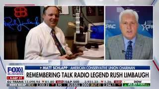 Matt Schlapp: Remembering Rush Limbaugh