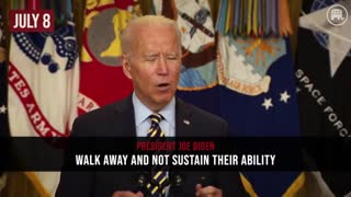 Flashback: Biden & His Admin Making Afghanistan Promises Which They Failed To Keep..!!