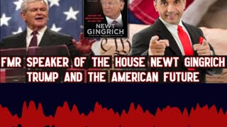 Newt Gingrich Shares How President Trump KNOWS We Need a Strong Military!