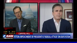 Fitton: Impeachment of President is 'radical attack' on our system