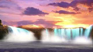 Beautiful Nature waterfalls
