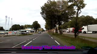 Crossing the Dutch-German border