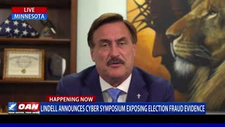 MyPillow CEO Mike Lindell announces details of upcoming cyber symposium