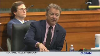Rand Paul Grills Anthony Fauci On Government Funding Of Wuhan Lab
