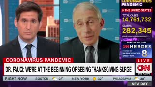 Dr. Fauci Pushes to Cancel Christmas Even More Aggressively Than Thanksgiving