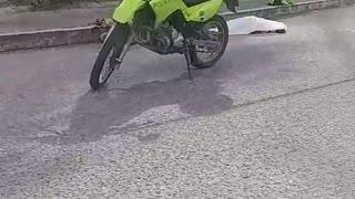 Ciclista murió en accidente en el norte de Bucaramanga