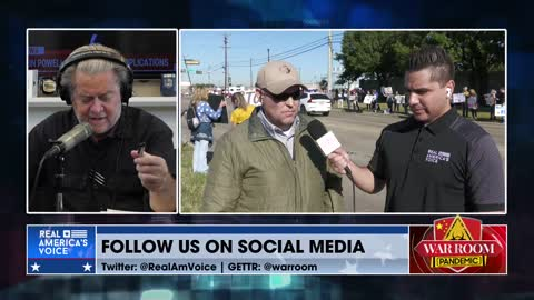 Southwest Pilot Speaks Out At Anti-Mandate Protest