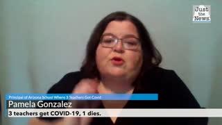 3 teachers get COVID-19, 1 dies
