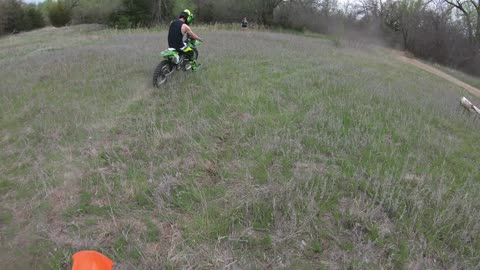 Trial Ride with music from Breaking Benjamin