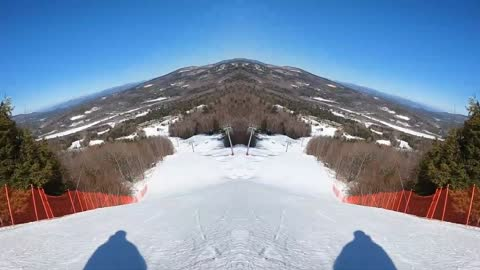 Double Vision Skiing