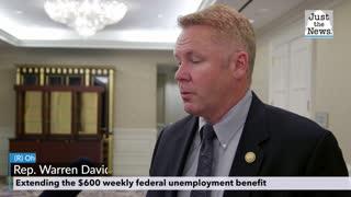Warren Davidson - Extending the $600 weekly federal unemployment benefit