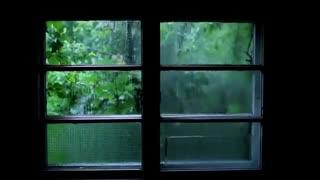 Rain sound and thunder sleep meditaiton
