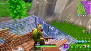 VICTORY ROYALE!! Fortnite Hunting Rifle ONLY Challenge