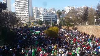 Protest March Fills Algerian Street