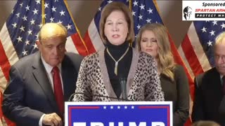 Uncut: Sidney Powell Election Fraud Press Confrence 11-19-20