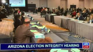 Election Fraud - Arizona Hearing