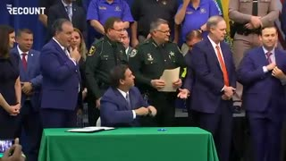 Ron DeSantis NUKES the Left by Signing Anti-Riot Bill