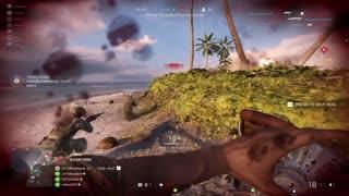 #shorts Battlefield 5 MASSIVE Push With the Lewis Gun On Wake Island